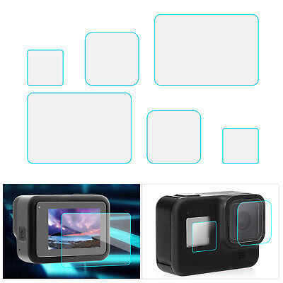 $ CDN10.77 • Buy 6PCS For Gopro Hero 8 Camera Accessories Screen Protector Tempered Glass A7H7