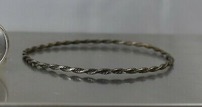$5.50 • Buy CrazieM Sterling 925 Silver Vintage Southwest Estate Bracelet 8-8.75  5.4g X00