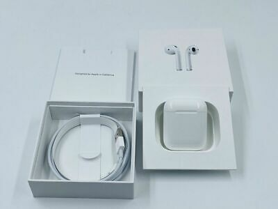 AU129.24 • Buy Apple Airpods With Charging Case 2nd Generation - Authentic Apple Airpods