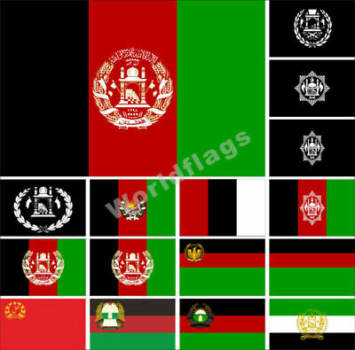 $ CDN15.11 • Buy Afghanistan Flag 3X5FT Historical National State Provinces Army Royal Banner