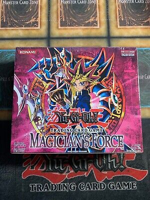 £5090.35 • Buy Yugioh Magician's Force Factory Sealed Booster Box Brand New 24 Packs!