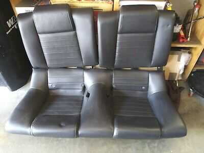 $269 • Buy 05 06 07 08 09 Ford Mustang Rear Oem Seats  Gt Coupe Leather