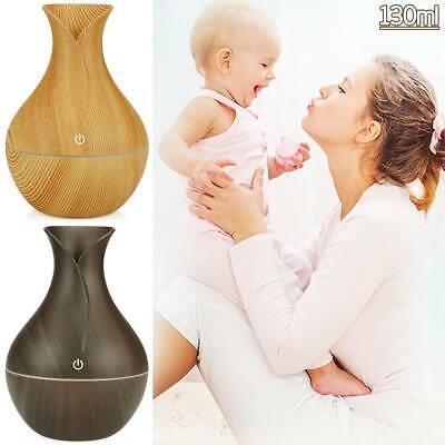 AU22.51 • Buy 130ml Air Diffuser Aroma Oil Humidifier LED  Light Up Relaxing Difuser USB Home