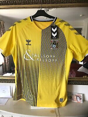 """£34.99 • Buy COVENTRY CITY  FC """"AWAY"""" FOOTBALL SHIRT Size LARGE / BRAND NEW WITH TAGS"""