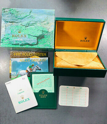 $ CDN364.72 • Buy Rolex Complete Box & Booklet Set  68.00.71 For Ref 14000 Airking