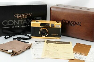 $ CDN2183.66 • Buy [Near Mint In Box] CONTAX T2 Black & Gold 60 Years Limited Edition From Japan