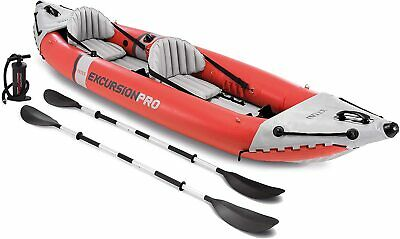 AU635 • Buy Intex Excursion Pro 2 Person Professional Series Inflatable Fishing Water Kayak