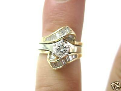 AU2234.58 • Buy Fine Engagement Thick Diamond Solitaire Ring 14KT 1.06Ct
