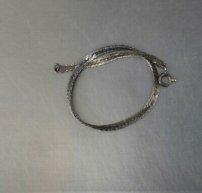 $0.99 • Buy CrazieM Sterling 925 Silver Vintage Southwest Estate Bracelet 7-7.5  2.6g X00