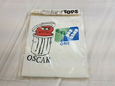$ CDN48.51 • Buy Vintage 70s OSCAR GROUCH Dad's Pop Shop Fruit T SHIRT DEADSTOCK NOS Sz MEDIUM M