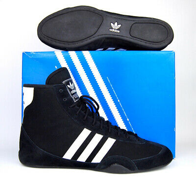 $ CDN384.53 • Buy ~NEW~ Adidas Canvas Wrestling Shoes Size 11 (2003) Black White RARE