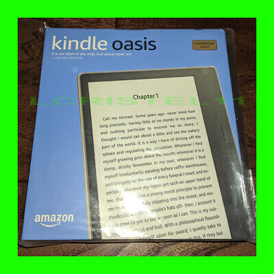 AU292.13 • Buy NEW - Amazon Kindle Oasis 32GB, Wi-Fi 7in - CHAMPAGNE GOLD - 9th Generation