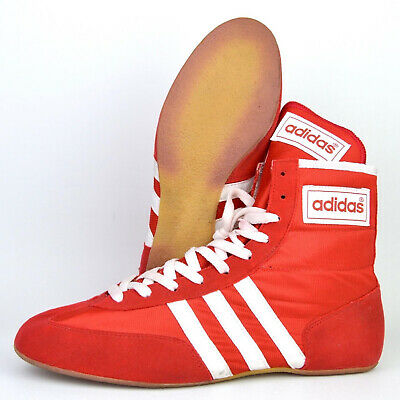 $ CDN403.87 • Buy Vintage Adidas PIN Wrestling Shoes Size 9 (1994) Red White RARE