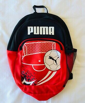 AU35.94 • Buy PUMA Official Soccer Ball Bag Small Red Black Gym Backpack FREE POST W