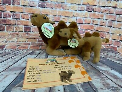 £7.49 • Buy MY ANIMAL KINGDOM Deagostini CLAUDE AND CAMILLA CAMEL With Tags RARE