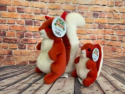 £7.49 • Buy MY ANIMAL KINGDOM Deagostini SUSIE AND SALLY SQUIRREL With Tags RARE