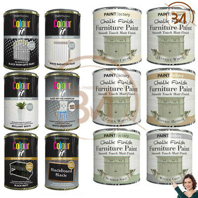 £5.95 • Buy Chalk Finish Furniture Paint Wax Lacquer Smooth Touch Matt Finish Vintage Gloss