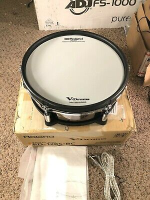 AU579.55 • Buy Roland PD-128S V-Pad 12  Mesh Snare Drum Pad Electronic Drums Trigger Controller
