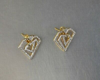 $8.50 • Buy CrazieM 925 Silver Vintage Southwest Estate Stud Post Earrings 3.8g X00