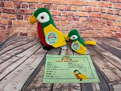£7.49 • Buy My Animal Kingdom Deagostini  PERCY PAUL PARROT With Tags RARE