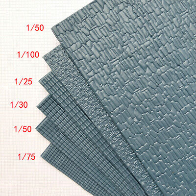 £5.19 • Buy 2PC Simulation PVC Roof Tile Sheet Model Building Material Sand Table DIY Craft