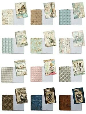 £4.95 • Buy CLEARANCE SALE Stamperia A5 Notebooks With Beautiful Images Your Choice New