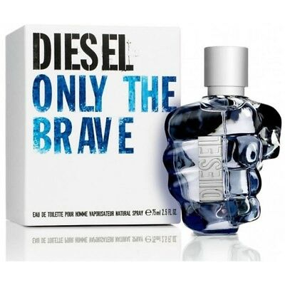 £37.99 • Buy DIESEL ONLY THE BRAVE EDT 75ml NEW SEALED FATHERS DAY PERFECT GIFT RRP £55