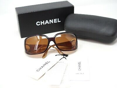 £67.26 • Buy Chanel Womens Sunglasses CC Logo Size 64-16-120 6014 Brown W/case Frame Only