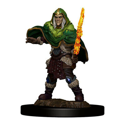 AU20.95 • Buy Dungeons & Dragons Premium Male Elf Fighter Pre-Painted Figure NEW