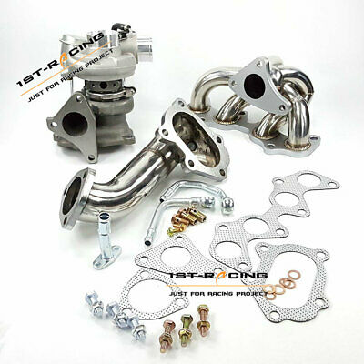AU638.26 • Buy Fit Toyota 4EFTE Starlet EP82/ EP85/ EP91 Turbo + Manifold +TD04 Downpipe T-304