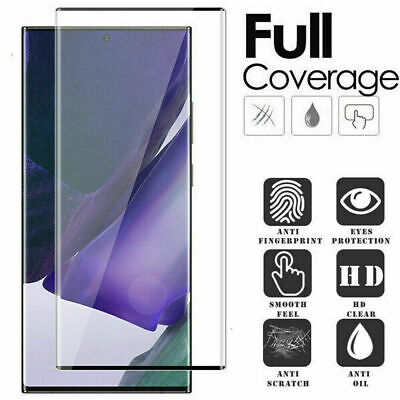 £2.99 • Buy For Samsung Note 8 9 10 20 Ultra Pro 3D Tempered Glass Screen Protector