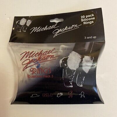 £7.07 • Buy Michael Jackson Silly Bandz Officially Licensed Bracelets From 2010 Pack Of 20
