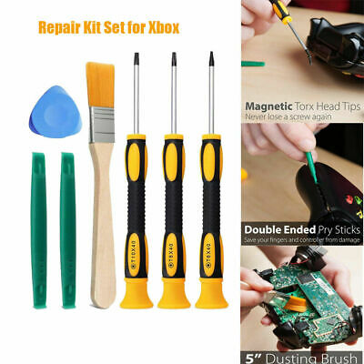 £4.99 • Buy Screwdriver Tool Repair Kit Set For Xbox One /Xbox 360 Controller PS3 /PS4 -7Pcs
