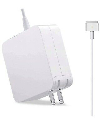 $18 • Buy Mac Book Air Charger, Replacement AC 45W Power Adapter, 45W White Charger T-Tip