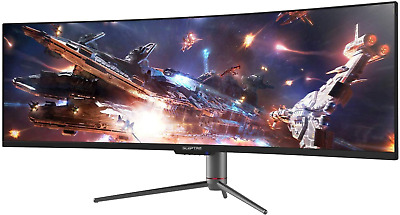 AU2456.06 • Buy Sceptre Curved 49 Inch (5120X1440) Dual Qhd 32:9 Gaming Monitor Up To 120Hz Disp
