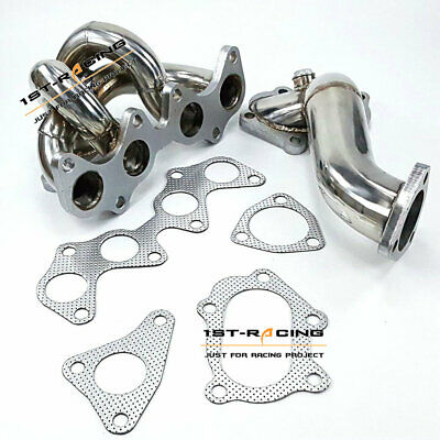 AU339.34 • Buy Fit Toyota 4EFTE Starlet EP82/ EP85/ EP91 TD04 SUS304 Exhaust Manifold +Downpipe