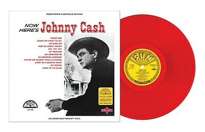 £19.50 • Buy Johnny Cash - Now Here's Johnny Cash Red Vinyl) New Sealed