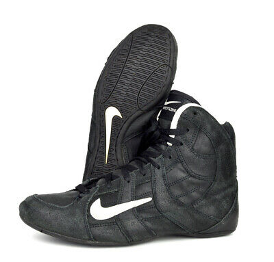 $ CDN251.51 • Buy Nike Speedsweep 3 Wrestling Shoes Size 10 (2003) Black White Leather RARE