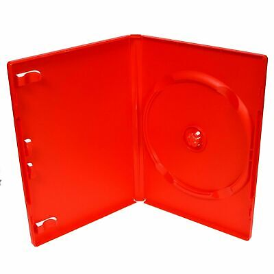 £1.49 • Buy Single Standard Red DVD Case 14 Mm Spine Empty Replacement Case NEW