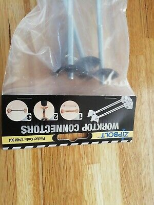 £10 • Buy  6 Zipbolt Worktop Joining Bolts New In Bag With Driver And Unika Router Bit