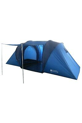 £129.99 • Buy Mountain Warehouse Waterproof 4 Man Tent With Porch & Sewn In Groundsheet