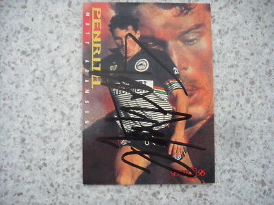 AU9.99 • Buy Nrl Rugby League Card Personally Signed & Coa 1996 Matt Adamson Panthers