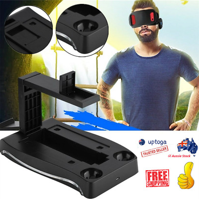 AU25.82 • Buy For PS4 VR II PS Game Charger  4 In 1 Dock Charging Stand Controller Holder AU