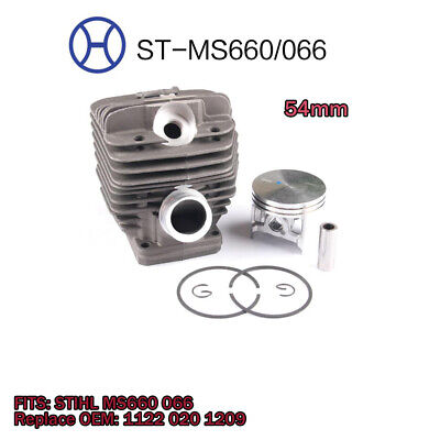 AU48.35 • Buy Cylinder Piston 54mm Chainsaw Equipment For STIHL MS660 066 Parts Replacement Br