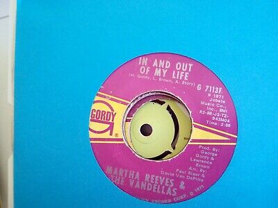 £8 • Buy Martha Reeves And The Vandellas In And Out Of My Life
