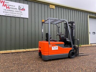 £5800 • Buy Fork Lift Truck Toyota Electric.Not Nissan Mitsubishi Linde. 5 FBE 18. 1800kg