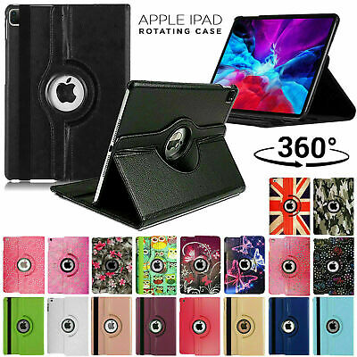 £3.99 • Buy Leather 360 Rotating Smart Case Cover For Apple IPad Air Pro Mini 9.7 10.2 2020