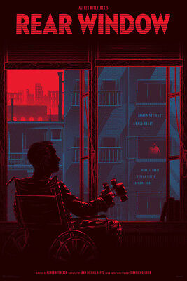 £431.13 • Buy Rear Window By Kevin Tong - Regular - Rare Sold Out Mondo Print