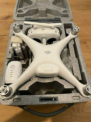 AU1393.59 • Buy DJI Phantom 4 Pro + Plus Drone White ( 2 Battery )