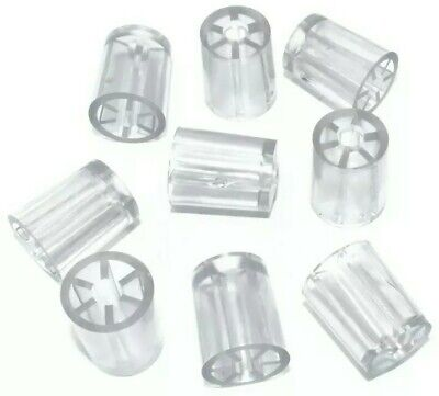 £8.99 • Buy 18mm CLEAR MINI SPACERS FOR CORRUGATED ROOFING SCREWS, COROLUX, ARIEL, ONDULINE